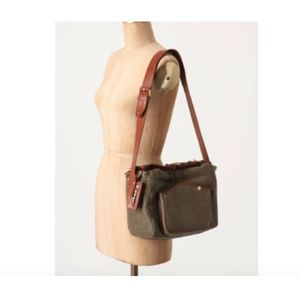 Anthropologie Leather Shoulder Bag